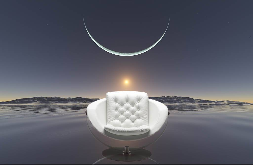 moon chair alfa steen ostergaard