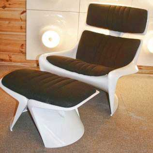 A-line president lounge chair